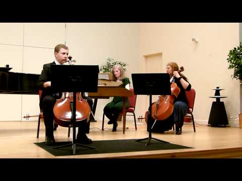 Marcello - Cello Sonata in G op. 1 no. 6 mvt 4