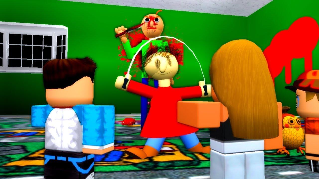 Baldi Kills Playtime Roblox Animation Youtube