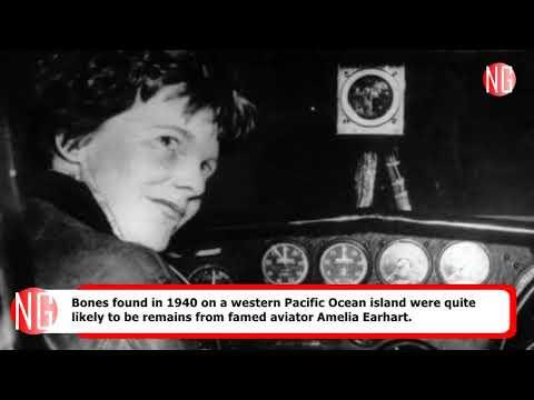 Amelia Earhart Bones Discovered Long Time Ago
