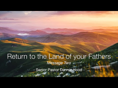 Sunday 07.18.21 | Senior Pastor Dannie Hood