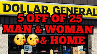 DOLLAR GENERAL 5 OFF OF 25 NOW TODAY