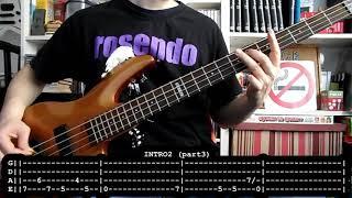 ROSENDO - Flojos de pantalon (bass cover w/ Tabs)