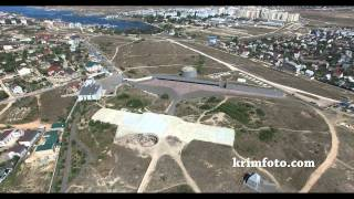 35 Батарея Севастополь Республика Крым 2015 с высоты птичьего полета