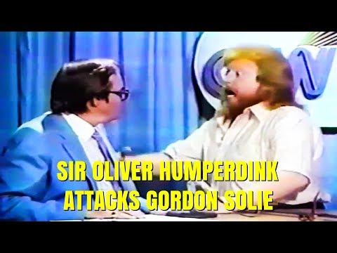 Sir Oliver Humperdink Attacks Gordon Solie (1980) @The Sportatorium
