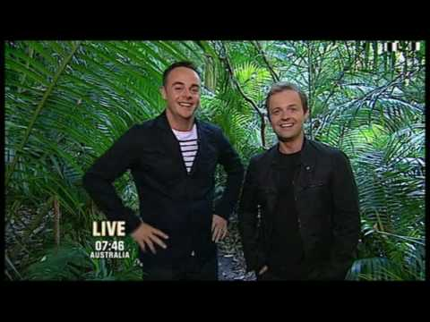 Ant sneezed & Dec had the giggles 01/12/08 - Im A Celebrity