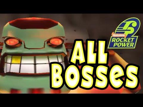 Rocket Power: Beach Bandits All Bosses | Final Boss (Gamecube, PS2)