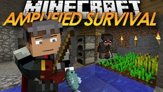 Minecraft: Amplified HARDCORE Survival - Home Sweet Home! w/ ChimneySwift (8)