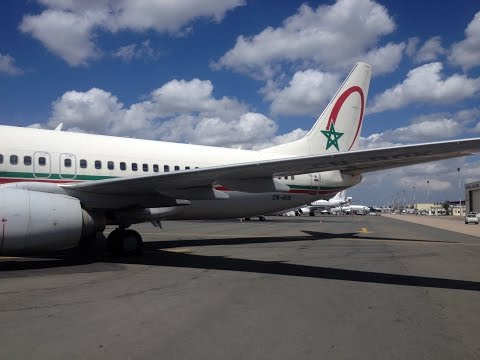 CANCELLED FLIGHT DISASTER Royal Air Maroc Flight Report AT851 Amsterdam-Casablanca B737 SamyTravels