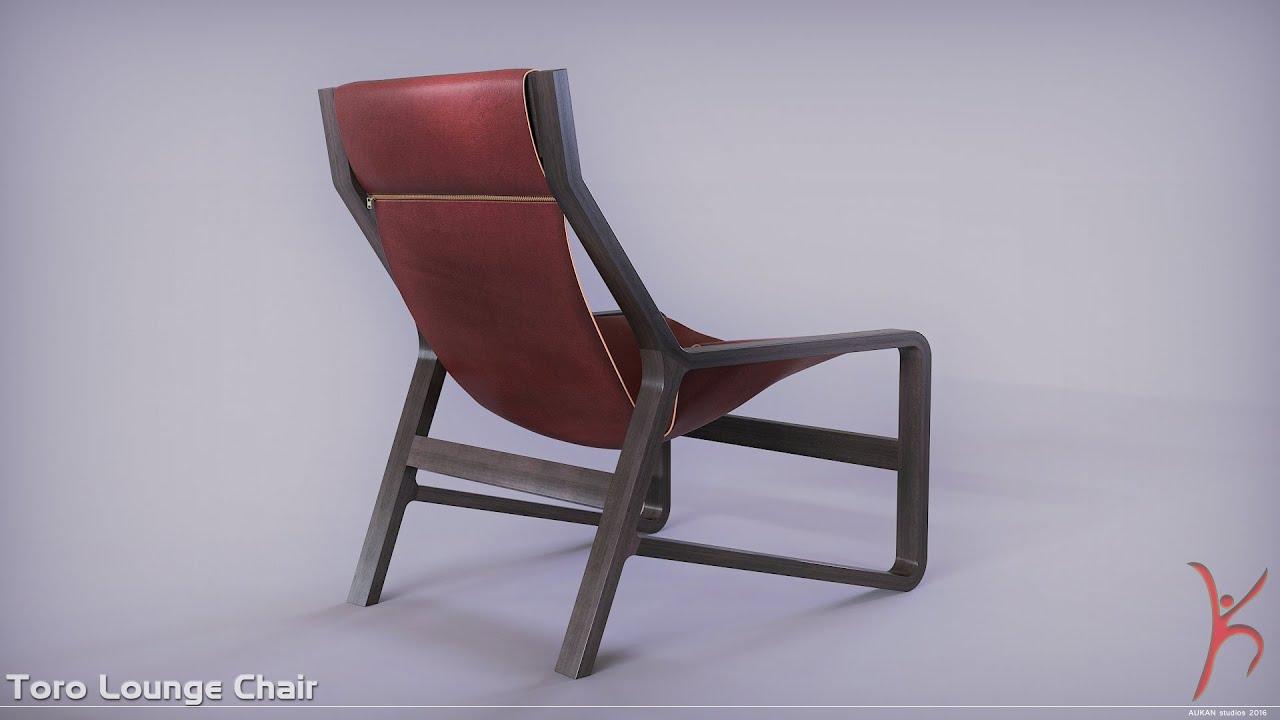 Toro Lounge Chair 360 3dsmax Vray