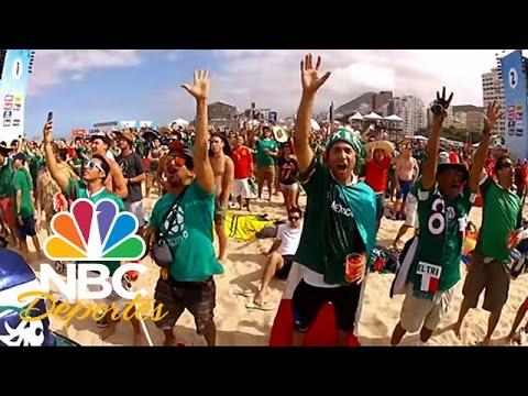 Mundial Brasil 2014: Grito controversial mexicano | FIFA Desde Brasil | NBC Deportes