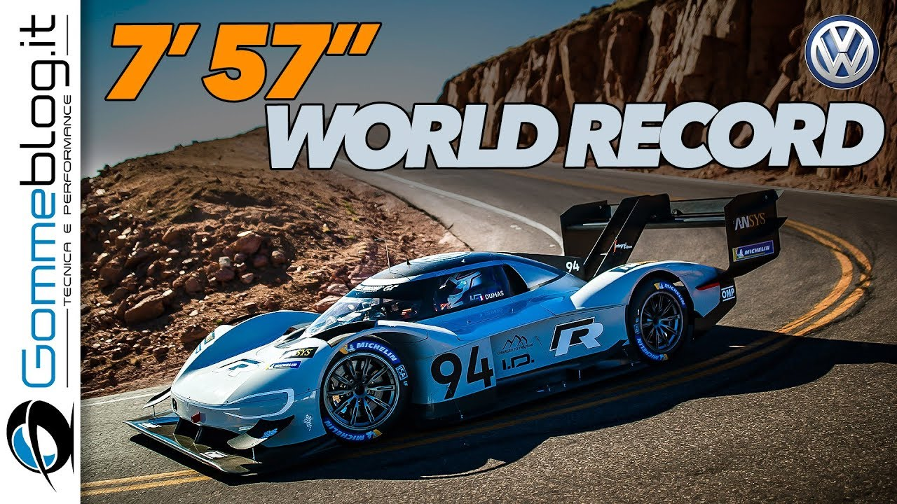 Pikes Peak 2018 Volkswagen I D R World Record 7 57 How It S Made Race Car