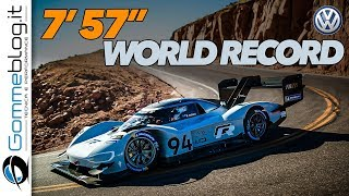 Pikes Peak 2018 - Volkswagen I.D. R WORLD RECORD 7'57"