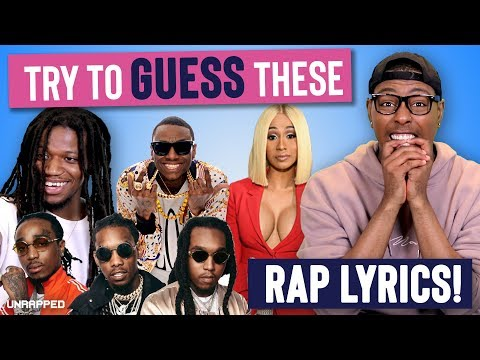 Can You Guess These Rap Lyrics? | MAESU plays UNRAPPED!