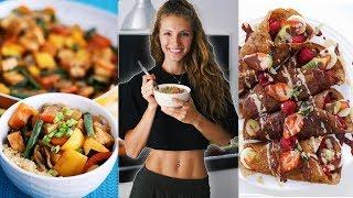 WHAT I EAT/FULL DAY OF EATING + RECIPES! | EASY & VEGAN | Vlogmas Day 23