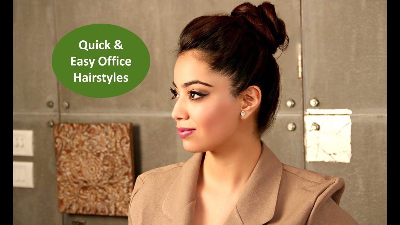 fomo   quick & easy office hair-dos   bebeautiful