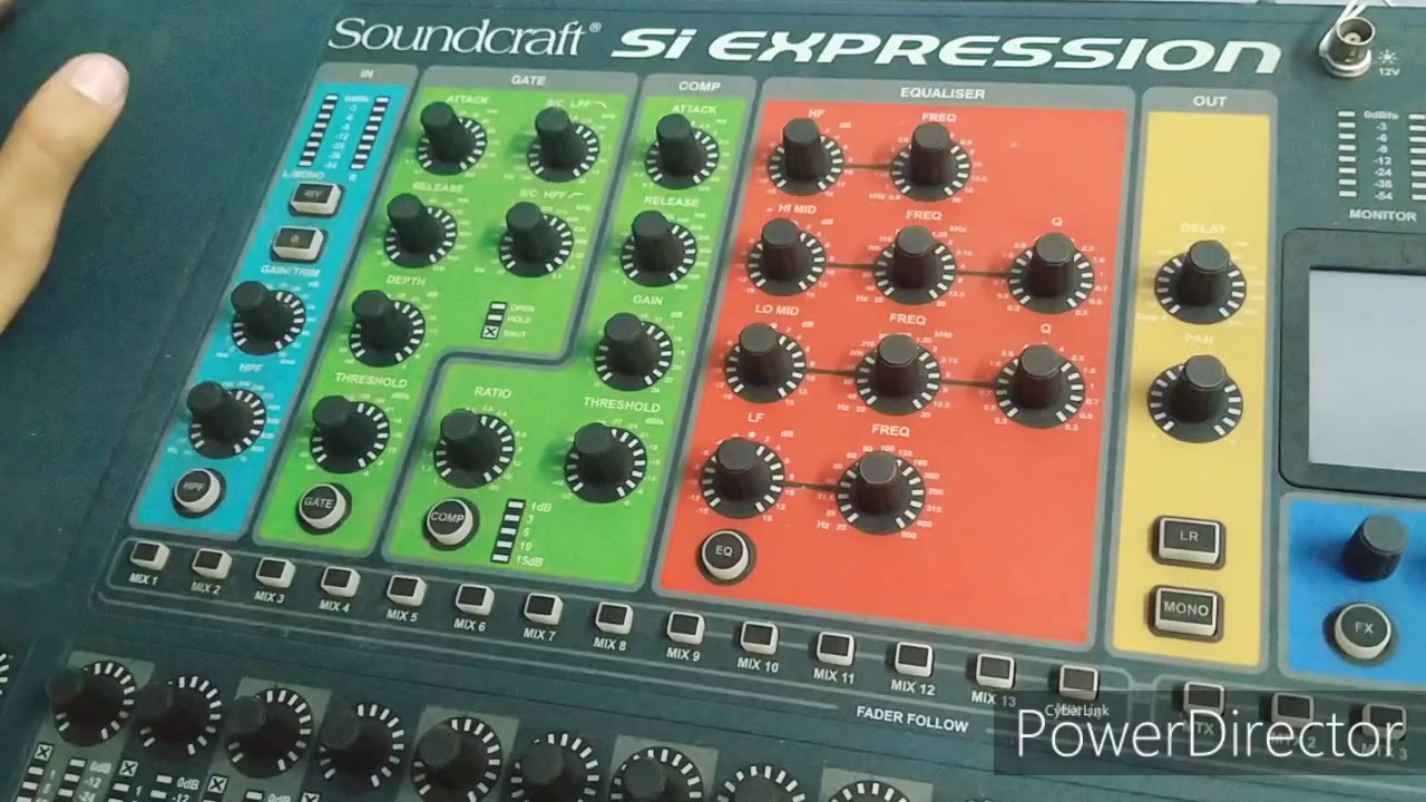 Soundcraft Si Expression Software Update Process In Hindi Youtube