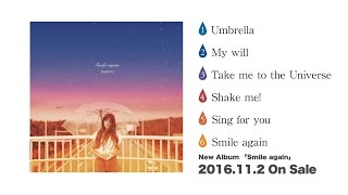 HARUNA アルバム「Smile again」ダイジェスト音源