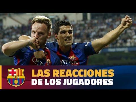 Declaraciones post-partido Real Madrid - Barça  (2-3)