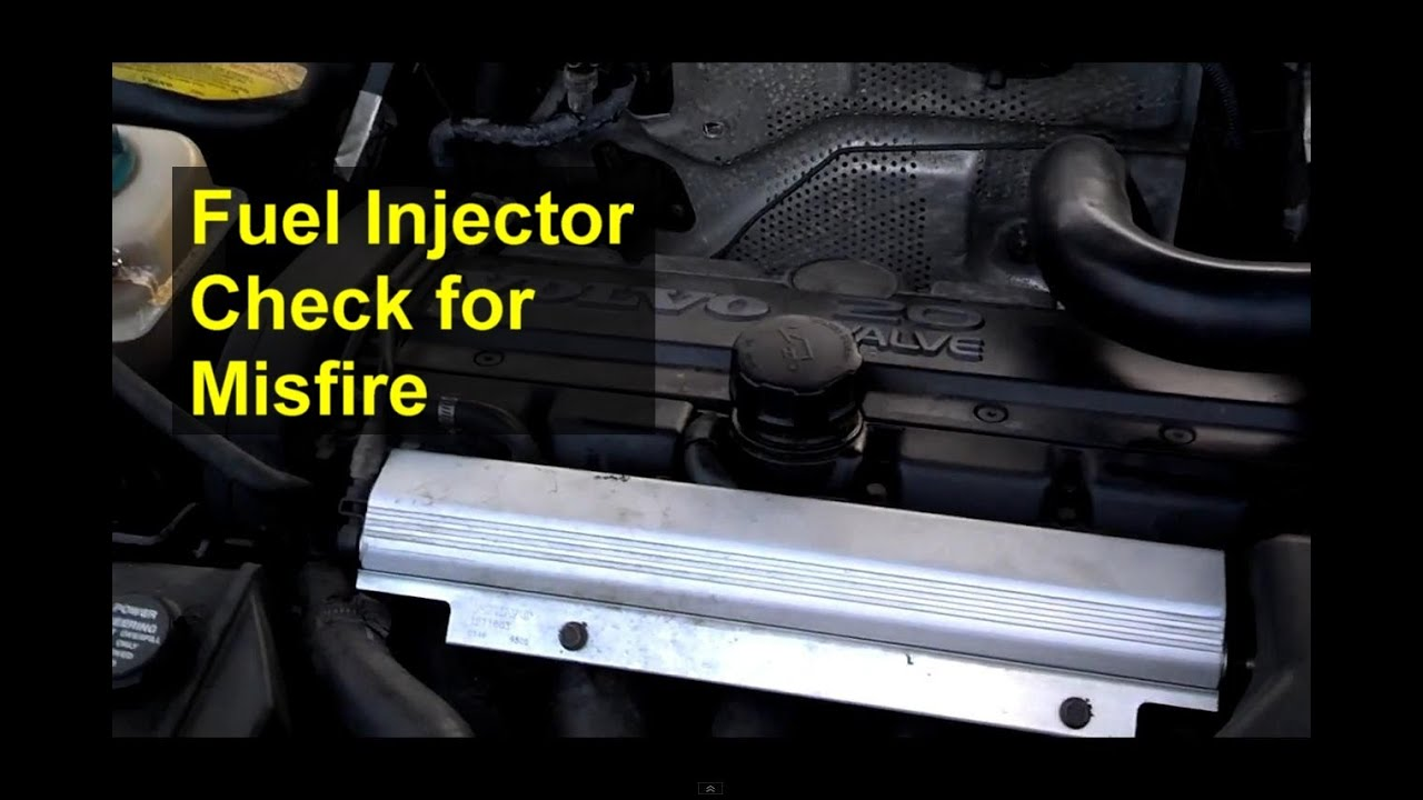 Checking your fuel injectors, trouble shooting a misfire ...