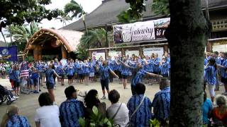 Pearl Harbor Project 2011- Polynesian Culture Center- Armed Forces Medley