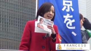 吉良佳子さん銀座2014 01 25 吉良佳子 検索動画 4