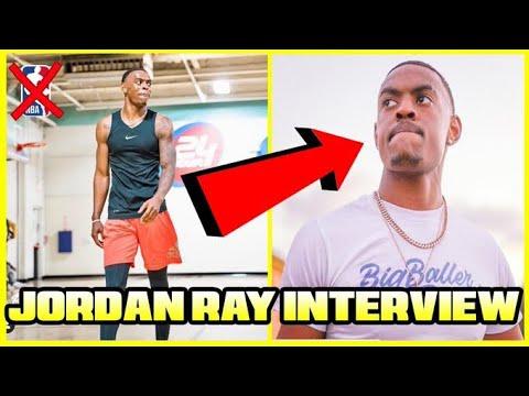 JORDAN RAY TALKS BEING A FRAUD, NBA