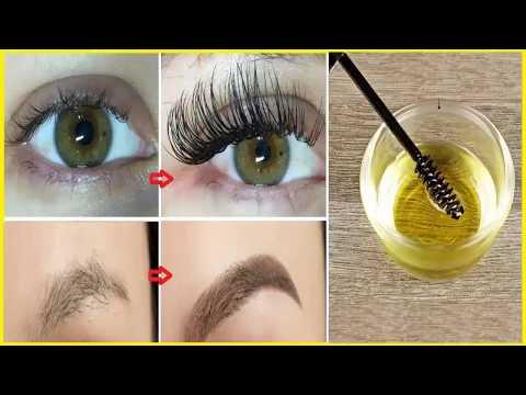 Cách giúp Lông Mi và Lông Mày mọc dài, dày trong vòng 1 tuần ai nhìn cũng mê (long eyelashes)