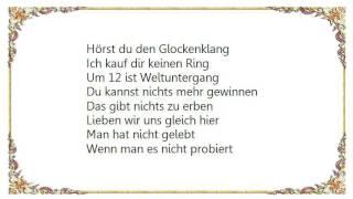 Herbert Grönemeyer - Viertel Vor Lyrics