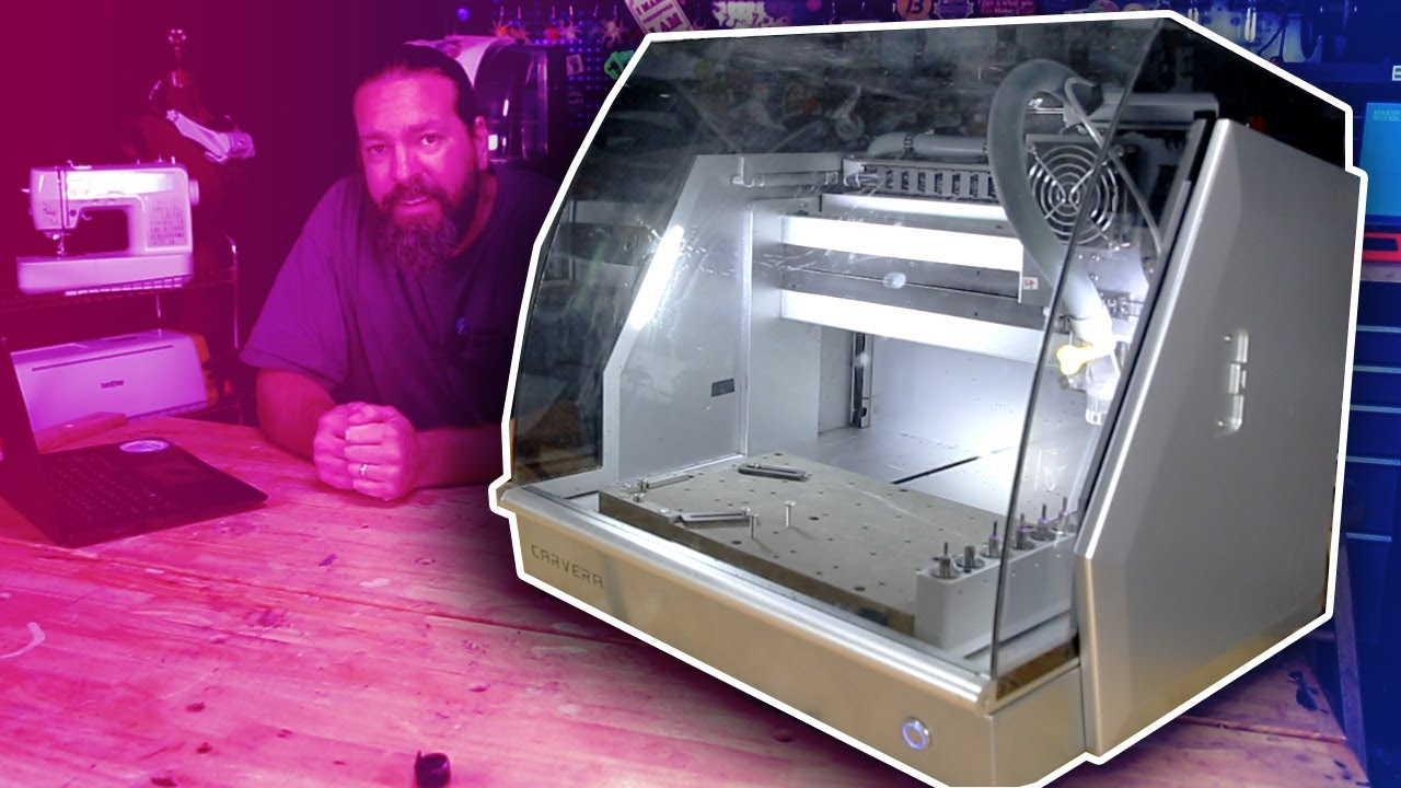 First Look: Carvera Desktop CNC Prototyping Station - Laser, Tool Changer, and smart probing