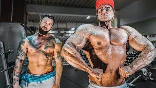 GYM BATTLE: Profi Bodybuilder vs. Fitness YouTuber!