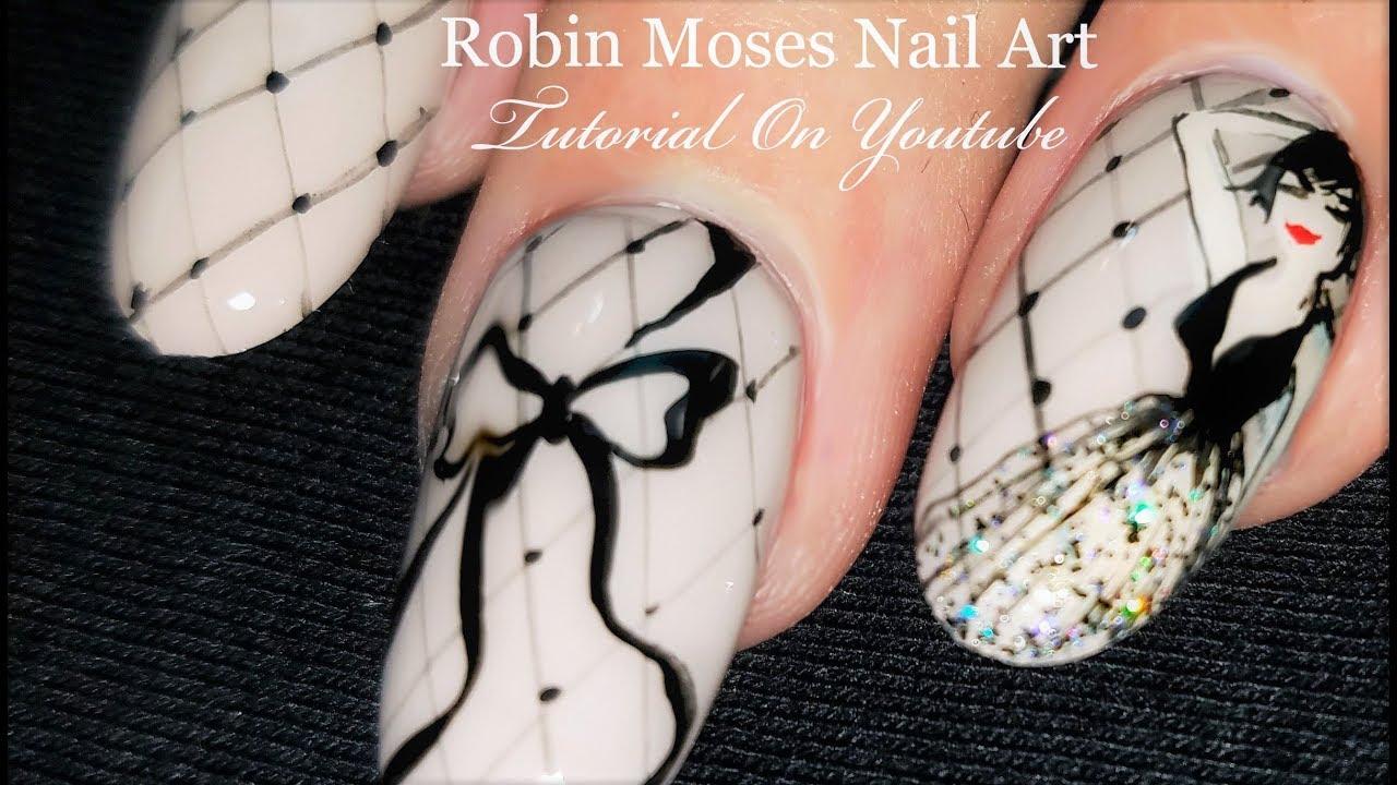 Paint A Pin Up Girl On A Nail For Pennies Diy Nail Art Design