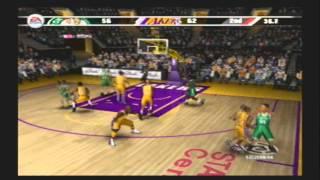 NBA Live 07 Franchise Championship Finals Game 1 Los Angeles Lakers vs Boston Celtics