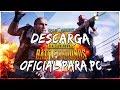 DESCARGA PLAYERUNKNOWNS BATTLEGROUNDS PARA PC GRATIS 2018 - PUBG MOBILE OFICIAL PARA PC