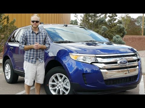 2014 Ford Edge SE FWD: Too many crossovers!?  Full review and test drive