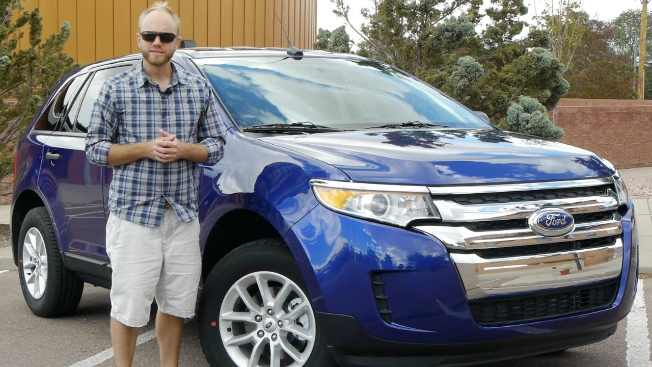2014 Ford Edge Se >> 2014 Ford Edge Se Fwd Too Many Crossovers Full Review And Test