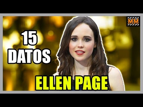 "15 Curiosidades sobre ""ELLEN PAGE"" (Juno - Inception) - 