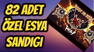 WolfTeam 82 ADET ÖZEL EŞYA SANDIK AÇIMI