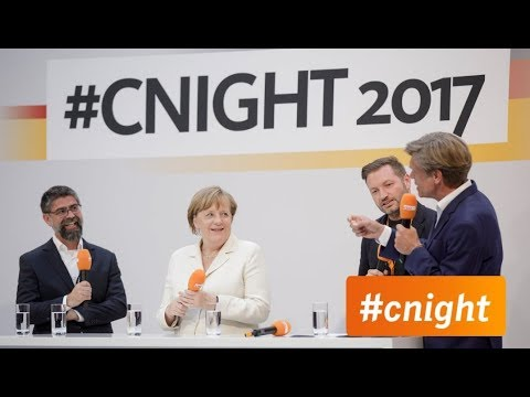 From Education to innovation: Rolf Schrömgens and Angela Merkel discuss Germany's need for agility.