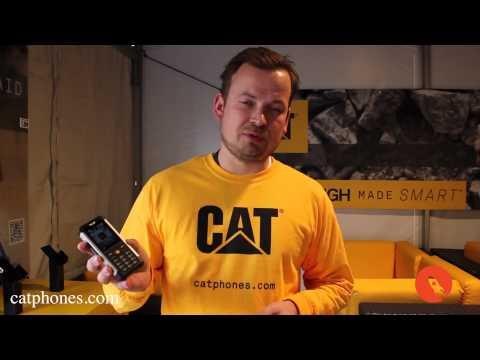 CAT B100 Rugged Feature Phone at CES 2014