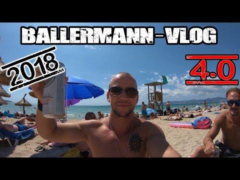 Ballermann 2018 4.0 Vlog   in 4K UHD