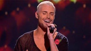 Rylan Clark sings for survival - Live Week 5 - The X Factor UK 2012