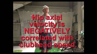 Reactionary Golf - How to increase club head speed.