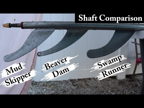Shaft Comparison Long Tail Mud Motor Kits