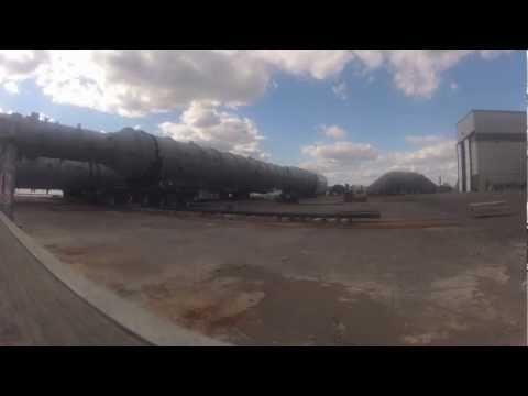 HEVI Vessel Move via Goldhofer SPMT - Western Mechanical Electrical Millwright Services