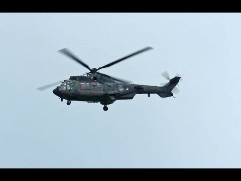 FLY-BY Cougar, Netherlands Air Force at Eindhoven