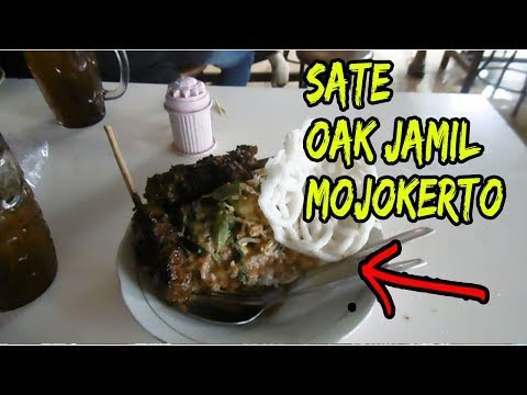 Kuliner Mojokerto Sate Pak Jamil Depan Alun Alun Mojokerto