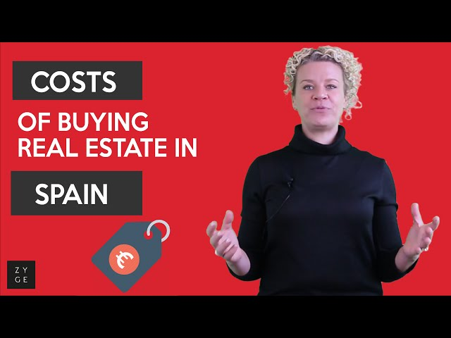 Costs of buying real estate in Spain