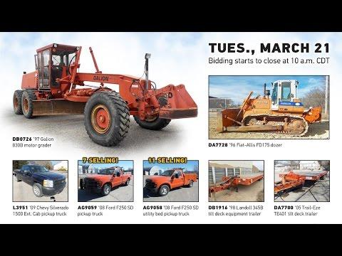 Kansas Department of Transportation auction | March 21, 2017 | Purple Wave