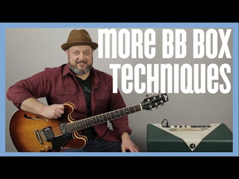 Blues Rock Lead Guitar - BB Box Guitar Lesson