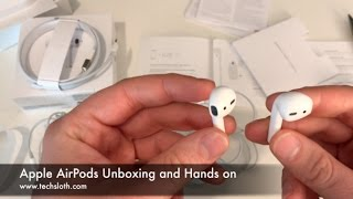 Apple AirPods Unboxing and Hands on